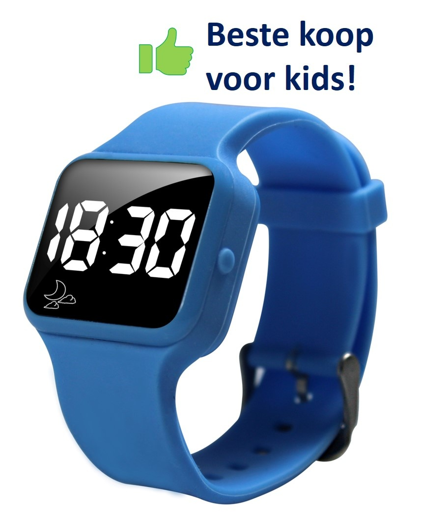 Voordeel zindelijkheidpakket meisjes slip blauw + R16 horloge + Juf Sas