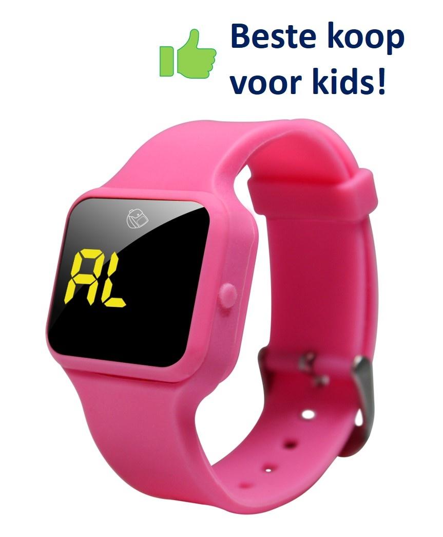 Voordeel zindelijkheidpakket meisjes slip roze + R16 horloge + Juf Sas