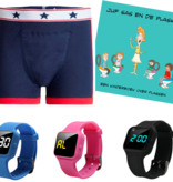 Advantage package boys boxer blue, R16 watch and Juf Sas