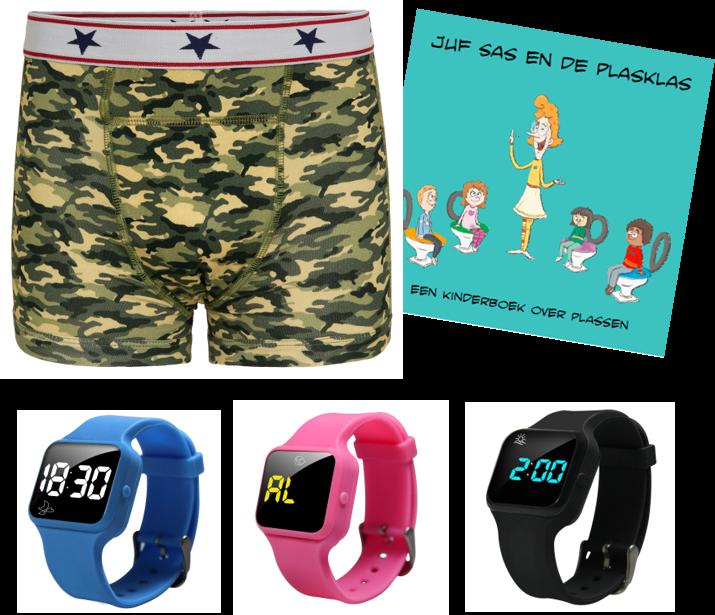 Advantage package boys boxer blue, R16 watch and Juf Sas - Copy - Copy - Copy - Copy