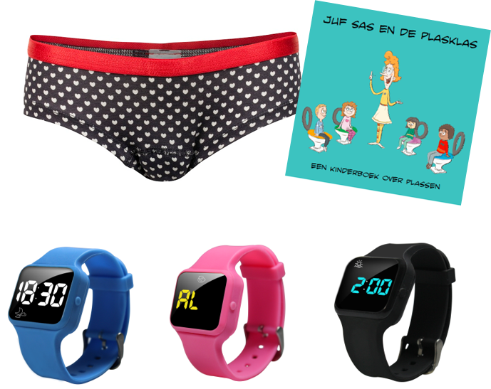 Advantage package boys boxer blue, R16 watch and Juf Sas - Copy - Copy - Copy - Copy
