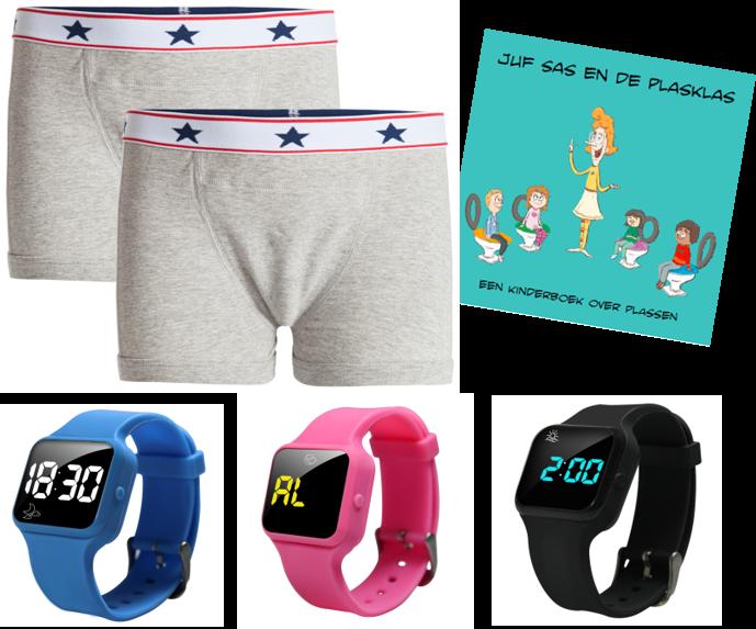 Advantage package boys boxer blue, R16 watch and Juf Sas - Copy - Copy - Copy