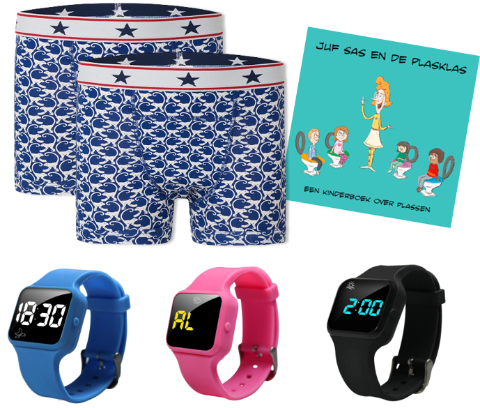 Advantage package boys boxer blue, R16 watch and Juf Sas - Copy - Copy - Copy