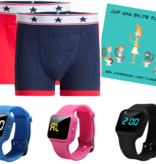 Advantage package boys boxer blue, R16 watch and Juf Sas - Copy - Copy - Copy - Copy - Copy - Copy - Copy - Copy