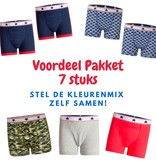 Underwunder Pack of 7 boys underwear. Mix of colors to be determined by yourself