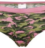 hipster meisje, camouflage