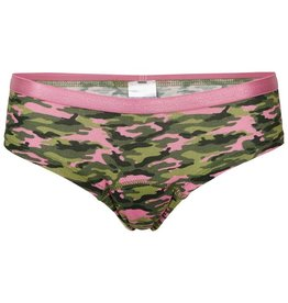 Meisjes hipster, camouflage