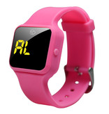 Plashwatch / Medicine watch R16 black with 16 alarm times especially for children - Copy