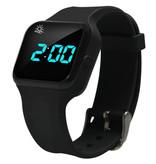 Plashwatch / Medicine watch R16 black with 16 alarm times especially for children