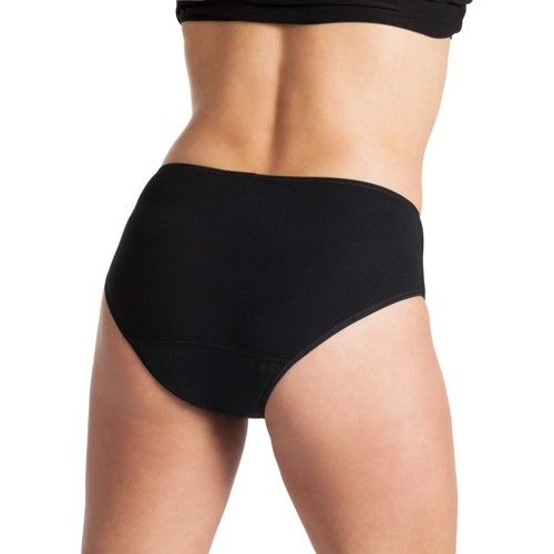 Underwunder Women High-cut briefs black/white (set of 2)