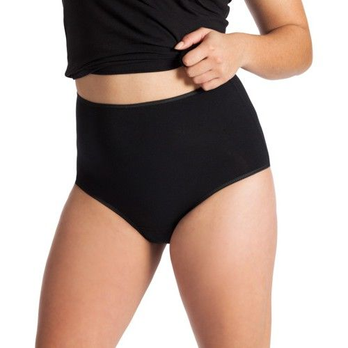 Underwunder Women Max briefs black/white (price per 2)