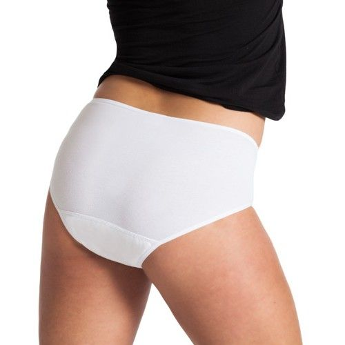 Underwunder Women high-cut briefs with lace white