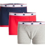 Underwunder Boys boxer blue/red/grey