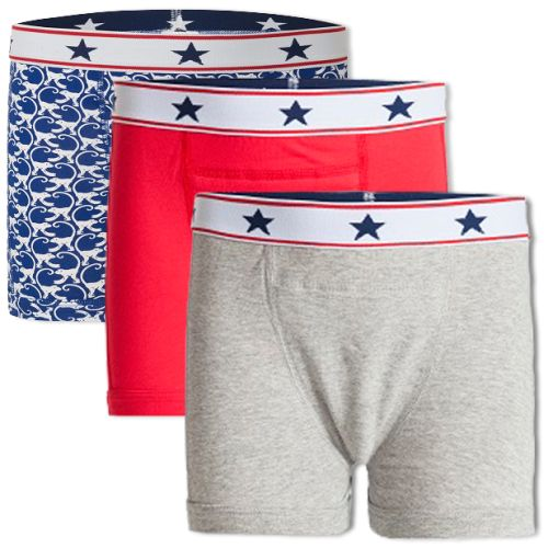 Underwunder Boys boxer red/grey/ monkey