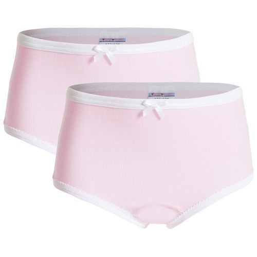 Underwunder Girls classic briefs pink (set of 2)