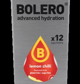 Box of 12 sachets of bolero flavors lemon pepper