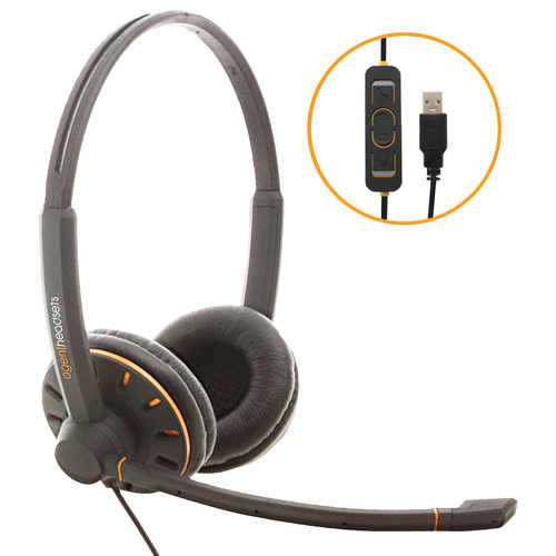 Agent AU-2 USB Calcenter Headset