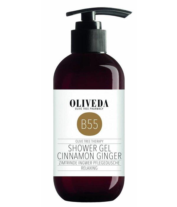 B55 Shower Gel Cinnamon Ginger 250ml