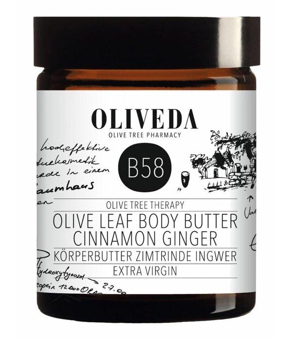B58 Bodybutter Cinnamon Ginger 180ml