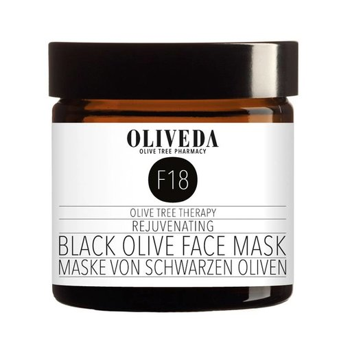 F18 Rejuvenating Black Olive Face Mask 60ml