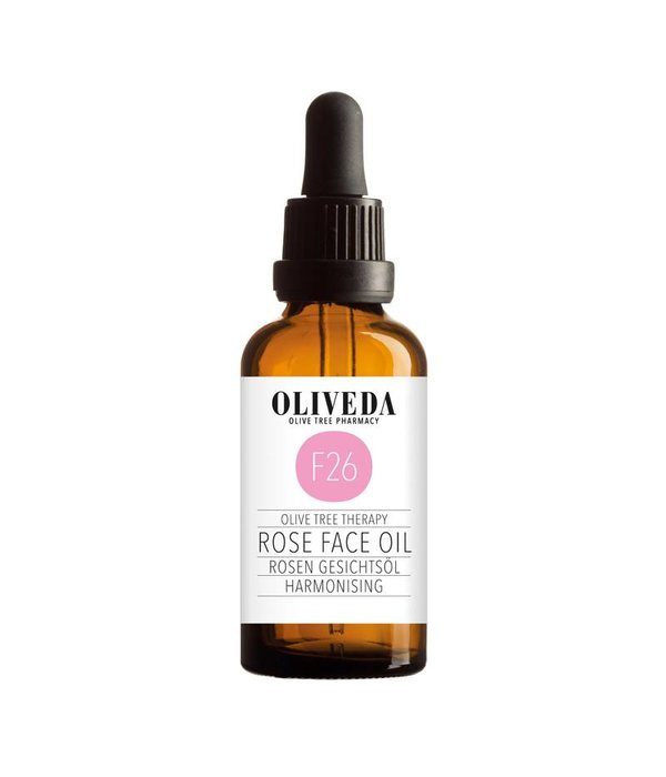 F26 Rose Harmonizing Face Oil 50ml