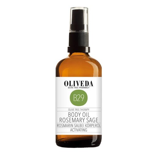 B29 Body Oil Rosemary Sage Activating 100ml