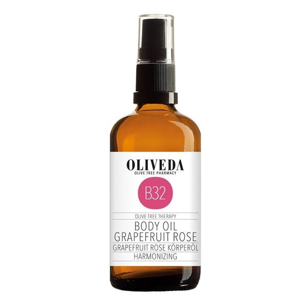 B32 Body Oil Grapefruit Rose Harmonizing 100ml