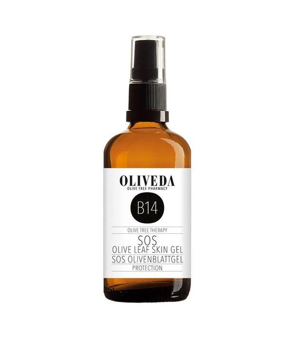 B14 SOS Olive Leaf Skin Gel protection 100ml