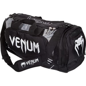Venum Venum Trainer Lite Sports Bag Gym Bag Black Grey