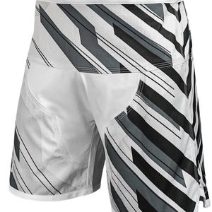 Hayabusa Hayabusa Metaru Charged Jiu Jitsu Fight Shorts BJJ White