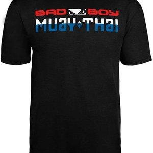 Bad Boy Bad Boy MUAY THAI DISCIPLINE T Shirt Zwart MUAY THAI Kleding