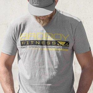 Bad Boy Bad Boy Grind T-shirt Grijs Fitness Kleding