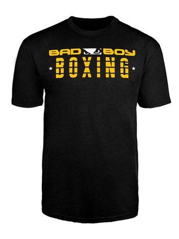 Bad Boy Bad Boy BOXING DISCIPLINE T Shirt Schwarz BOXING Kleidung
