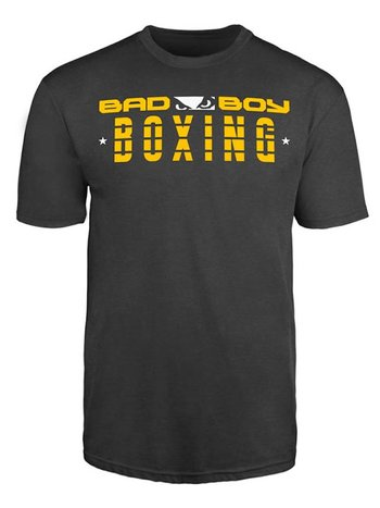 Bad Boy Bad Boy BOXING DISCIPLINE T Shirt Antraciet Boks Kleding