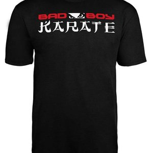 Bad Boy Bad Boy KARATE DISCIPLINE T Shirt Zwart KARATE Kleding