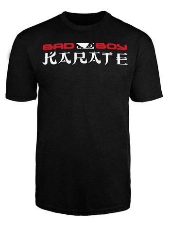 Bad Boy Bad Boy KARATE DISCIPLINE T Shirt Zwart KARATE Kleding