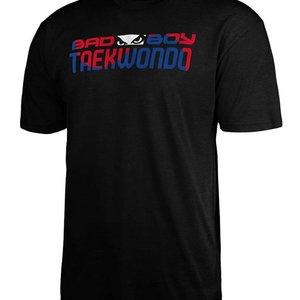 Bad Boy Bad Boy Kids TAEKWONDO DISCIPLINE T-shirt Zwart