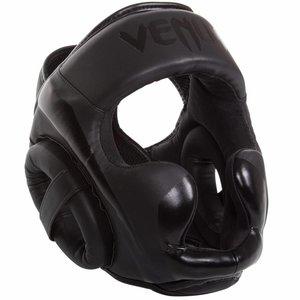 Venum Venum ELITE Kick(Boxing) Headgear Kopfschutz Schwarz