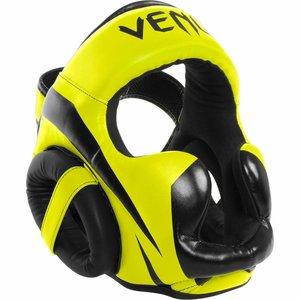 Venum Venum ELITE Kick(Boxing) Headgear Kopfschutz Neo Gelb