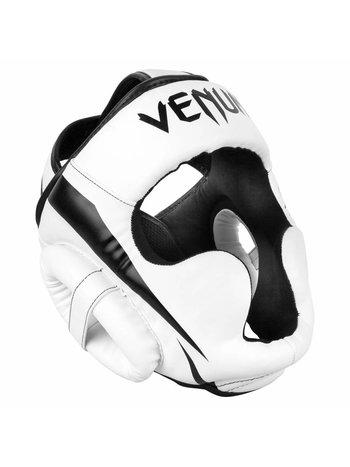 Venum Venum ELITE Headgear Kickboks Hoofdbeschermer Wit Zwart
