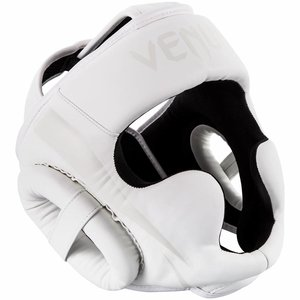 Venum Venum ELITE Boxing Sports Headgear White Head Protection