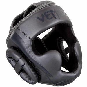 Venum Venum ELITE Boxing Sports Headgear Kopfschutz Grau