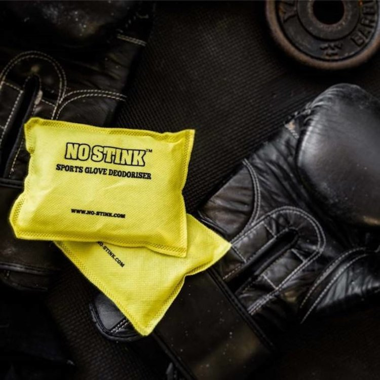 No-Stink No Stink Boxing Glove Sports Glove Deodouriser Yellow