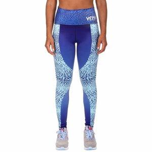 Venum Venum Dune Damen Legging Blaue Venum Fitness Bekleidung