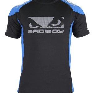 Bad Boy Bad Boy Performance Walkout 2.0 T Shirt Black Blue MMA Clothing