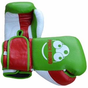 Punch Round™  Punch Round™ Champion Bokshandschoenen Leder Groen Rood Wit