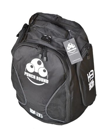 PunchR™  Punch Round™ Boxing Sporttas Rugtas Gym Bag Black Ice