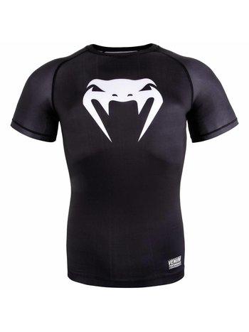 Venum Venum Contender 3.0 Compression T Shirts S/S Black White