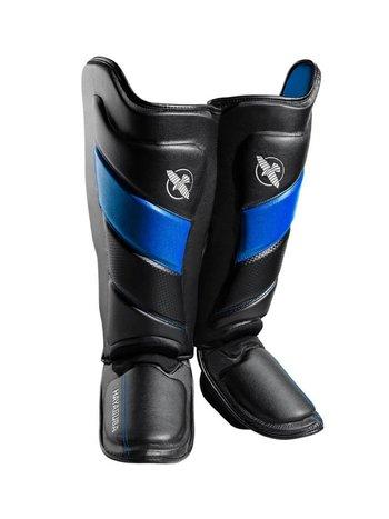 Hayabusa Hayabusa T3 Striking Shinguards Kickboks Scheenbeschermers Zwart Blauw