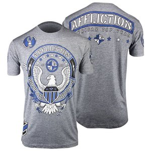 Affliction Clothing Affliction ATT T Shirt Grey MMA Apparel Europe